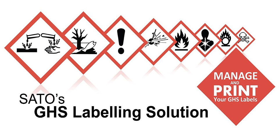 SATO's GHS Labelling Solution - Manage and Print your GHS Labels