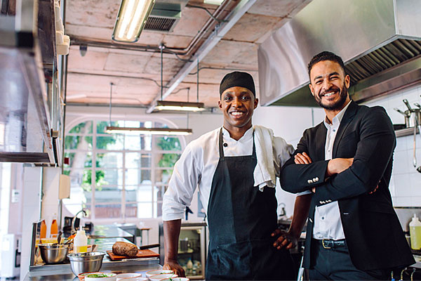 Head chef and restaurant owner