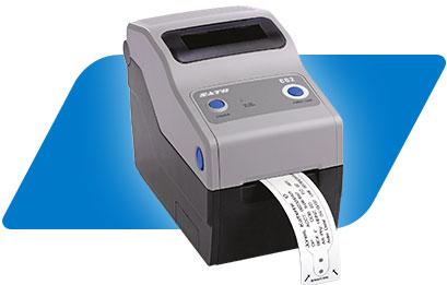 Label Making Sato Ct408i Desktop Direct Thermal Label Printer Label Makers