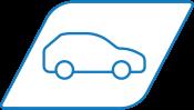 Settore automobilistico icona