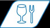 Voedingsindustrie pictogram