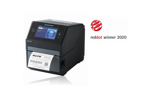 SATO Wins Red Dot Award for Smart Desktop Label Printer